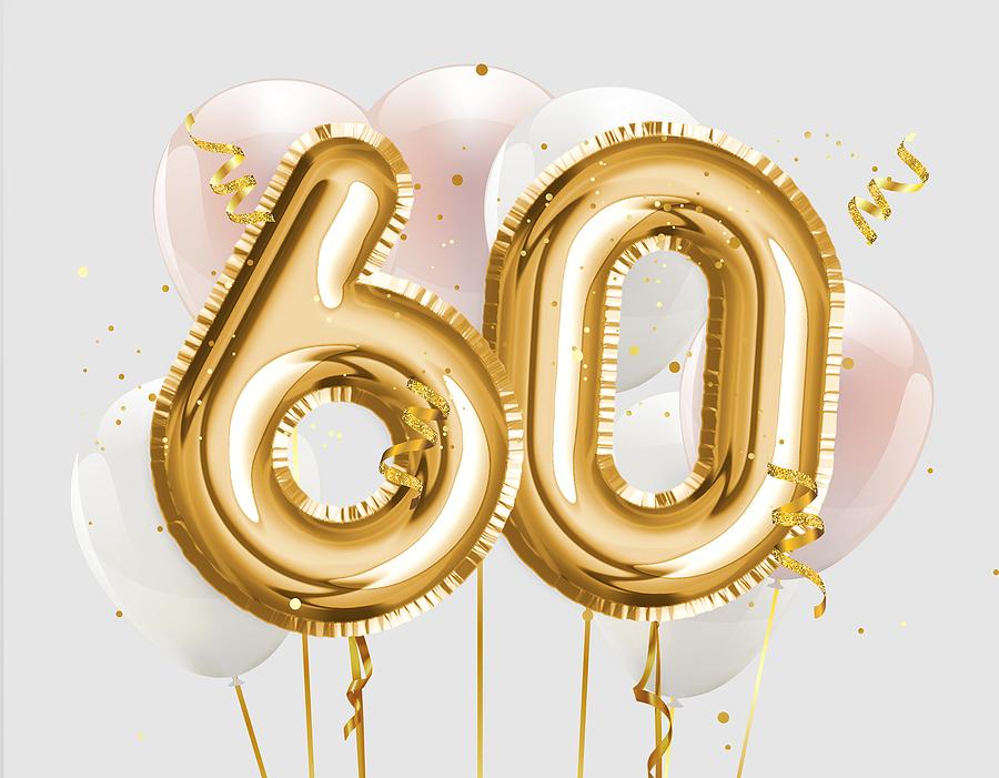 60 balloons